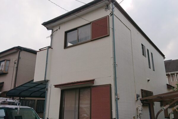 千葉市稲毛区 屋根塗装・外壁塗装・付帯部塗装 (8)