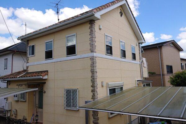 千葉市若葉区 S様邸 屋根塗装・外壁塗装・付帯部塗装 (1)