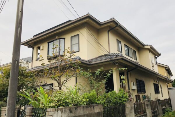 千葉市花見区 E様邸 屋根塗装・外壁塗装・付帯部塗装 (3)