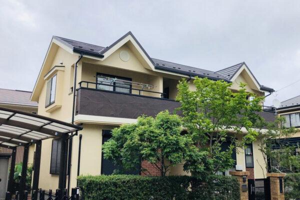 千葉市花見区 屋根塗装・外壁塗装・付帯部塗装 (2)