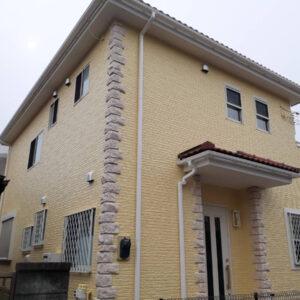 千葉県 外壁塗装 足場解体と同時に隣のお客様宅を足場組立しました (4)
