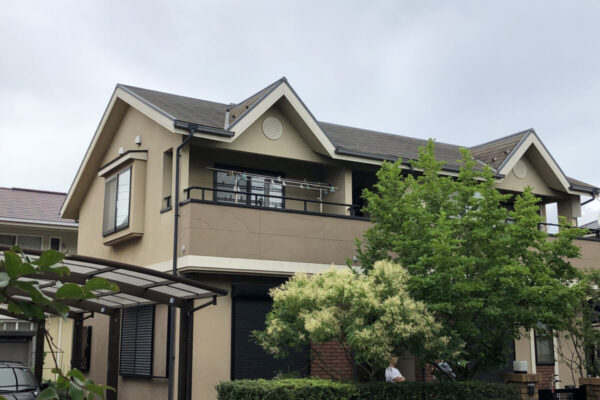 千葉市花見区 屋根塗装・外壁塗装・付帯部塗装 (1)