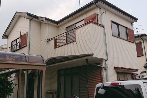 千葉市稲毛区 屋根塗装・外壁塗装・付帯部塗装 (7)