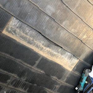 千葉県千葉市稲毛区 T様邸 屋根塗装・外壁塗装・防水工事 屋根の棟板金交換 化粧スレート屋根の部分差し替え (9)